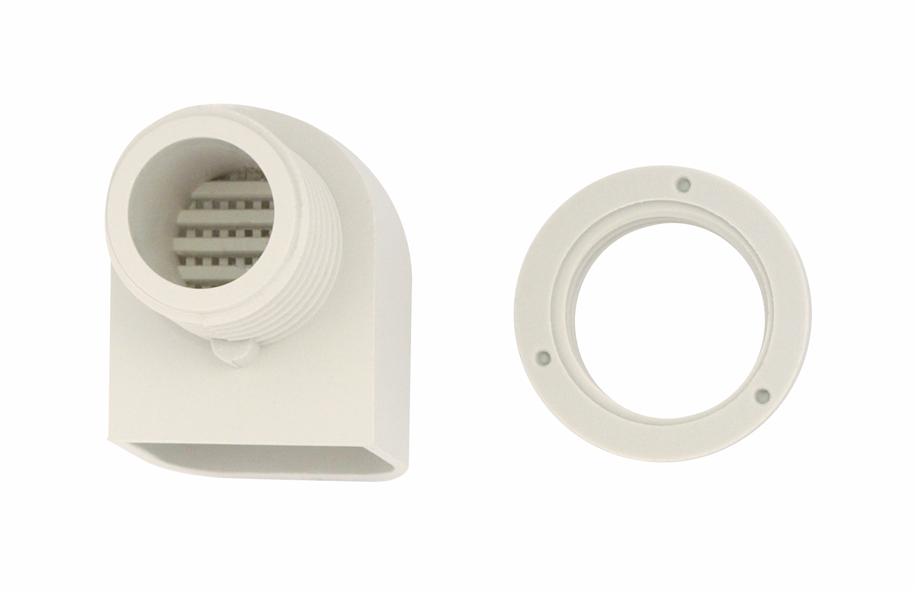 1 Stk Ventilatorverschraubung klein RAL7030 IMDV0000--
