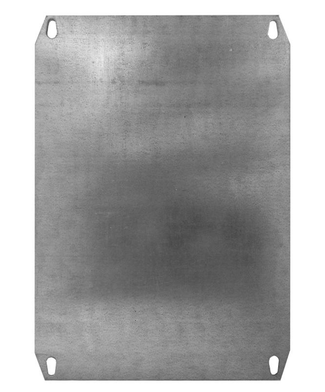 1 Stk Montageplatte Metall für Minipol 400x300mm IMMM0043--