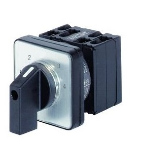1 Stk 4-Stufen-Schalter Einbau, 3-polig, 1-2-3-4 IN003125--