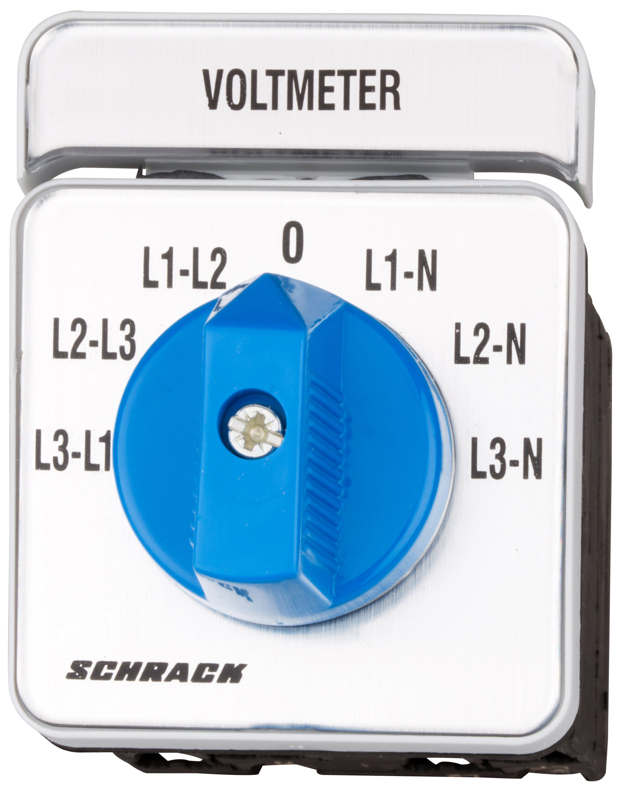 1 Stk Voltmeter-Umschalter 3 x L-L / 3 x L-N, Verteilereinbau IN009V00--