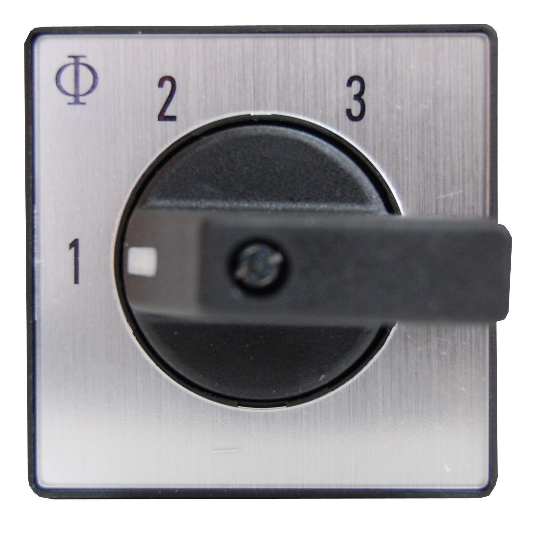 1 Stk Stufenschalter o. 0 Stellung, Front, 3 Stufen, 20A, 2-polig IN022016--