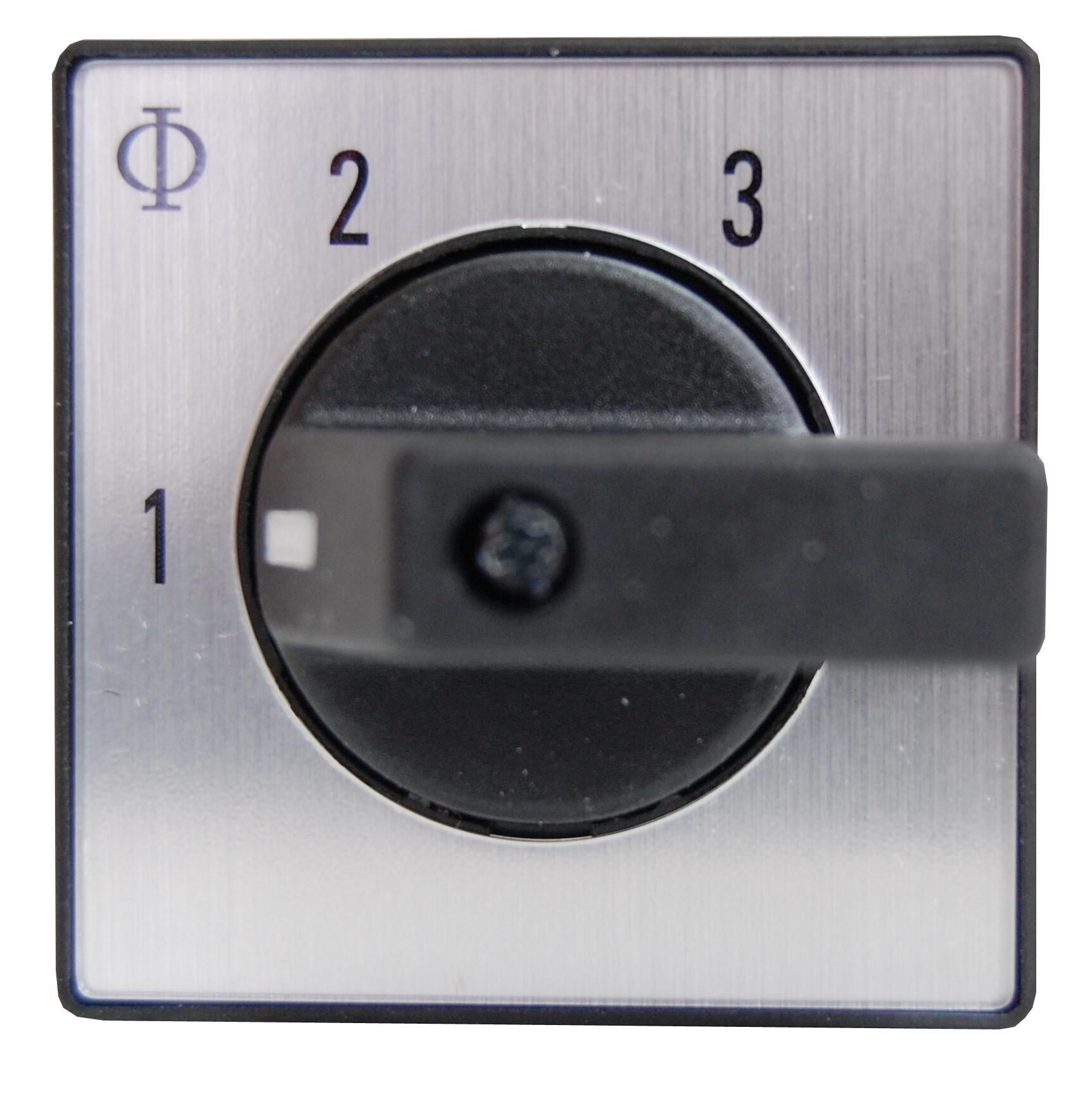 1 Stk Stufenschalter o. 0 Stellung, Front, 5 Stufen, 20A, 1-polig IN022019--