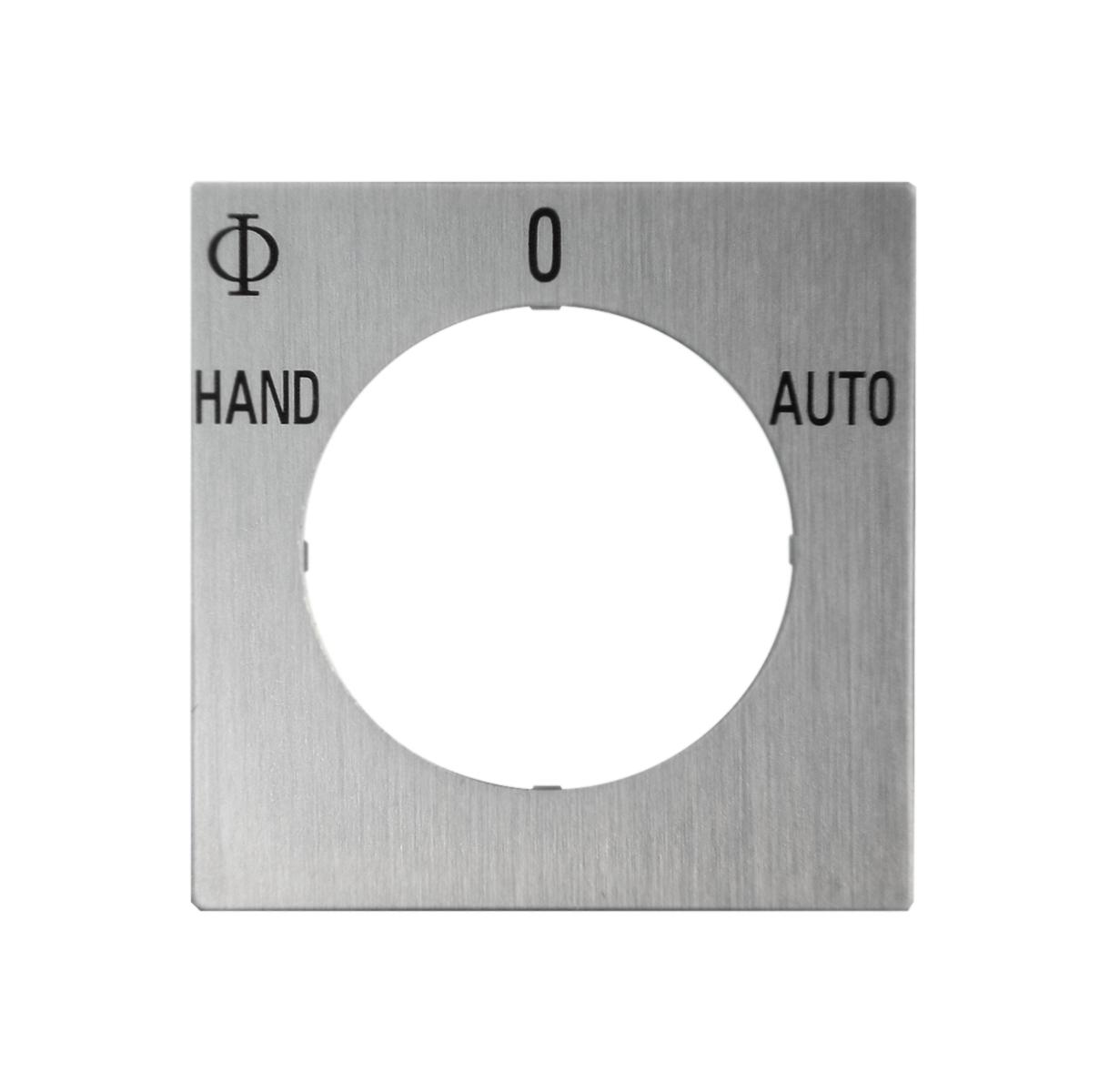 1 Stk Zusatzschild HAND-0-AUTO IN022037--