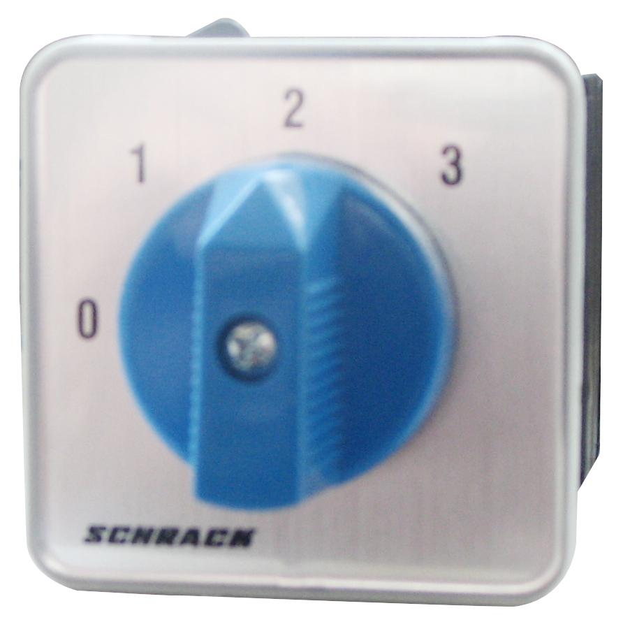 1 Stk 3-Stufen-Schalter Zentralbefestigung, 1-polig, 0-1-2-3 IN023903--