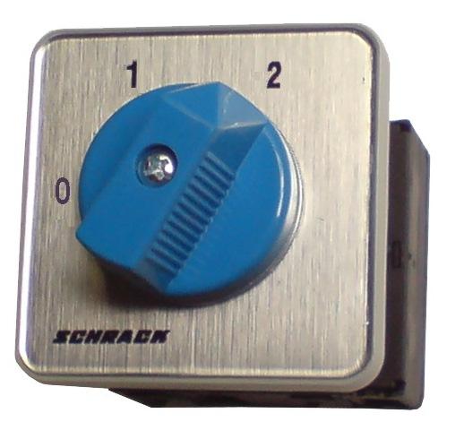 1 Stk 2-Stufen-Schalter Zentralbefestigung, 1-polig, 0-1-2 IN023904--