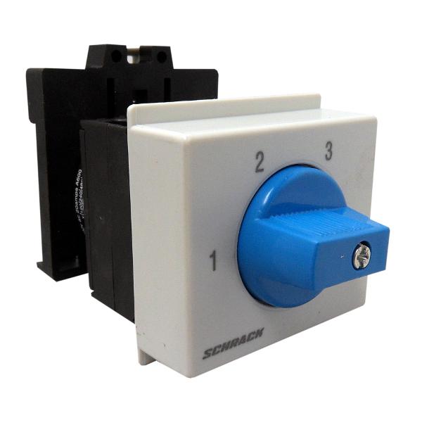 1 Stk 3-Stufen-Schalter Reiheneinbau, 2-polig, 1-2-3 IN083121--