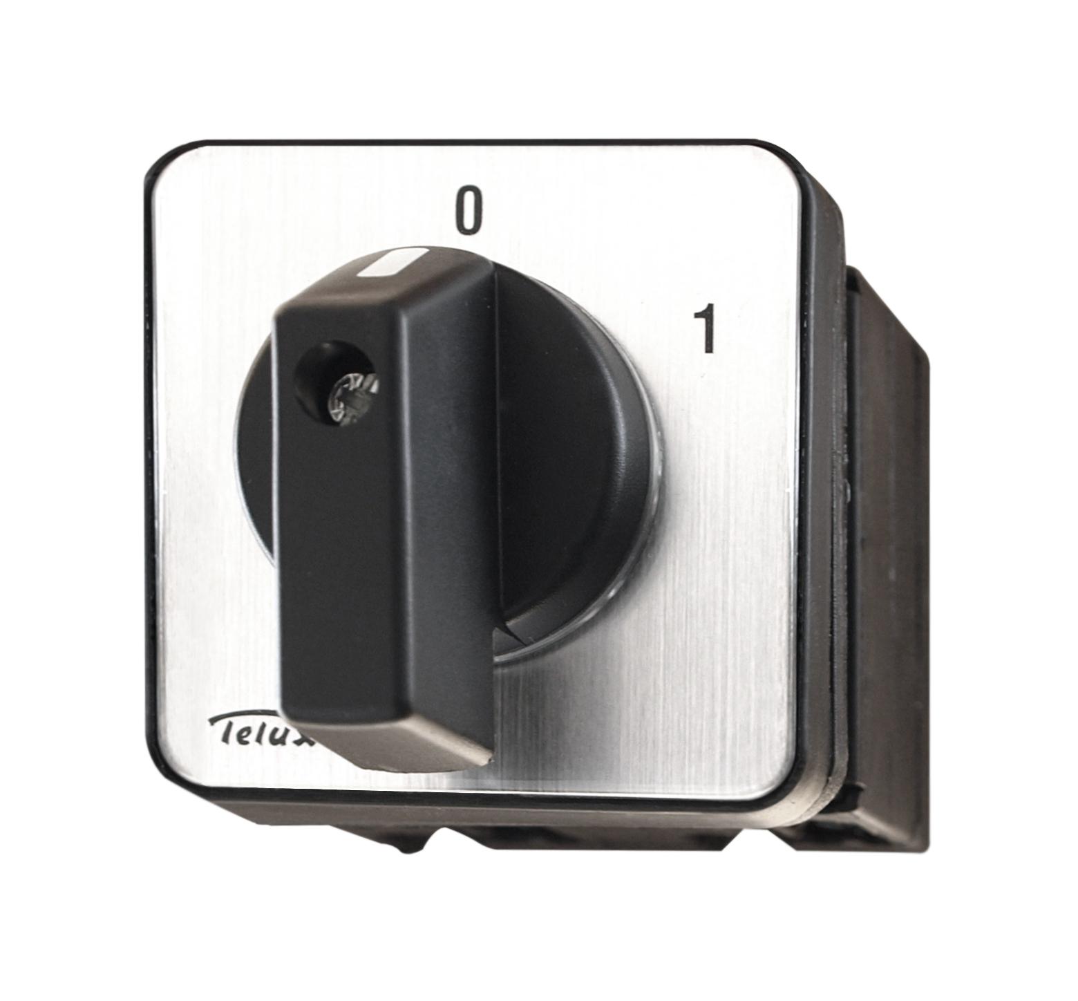 1 Stk Ausschalter 3 -polig Einbau 0-1, B&J IN0E0302B-