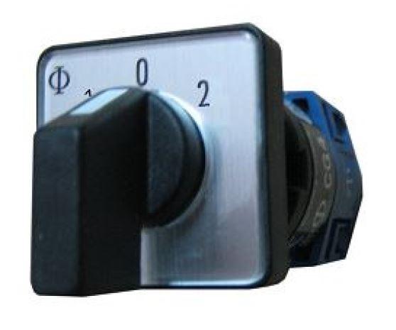 1 Stk Umschalter, 2-polig, 10A, 1-0-2 IN622004--