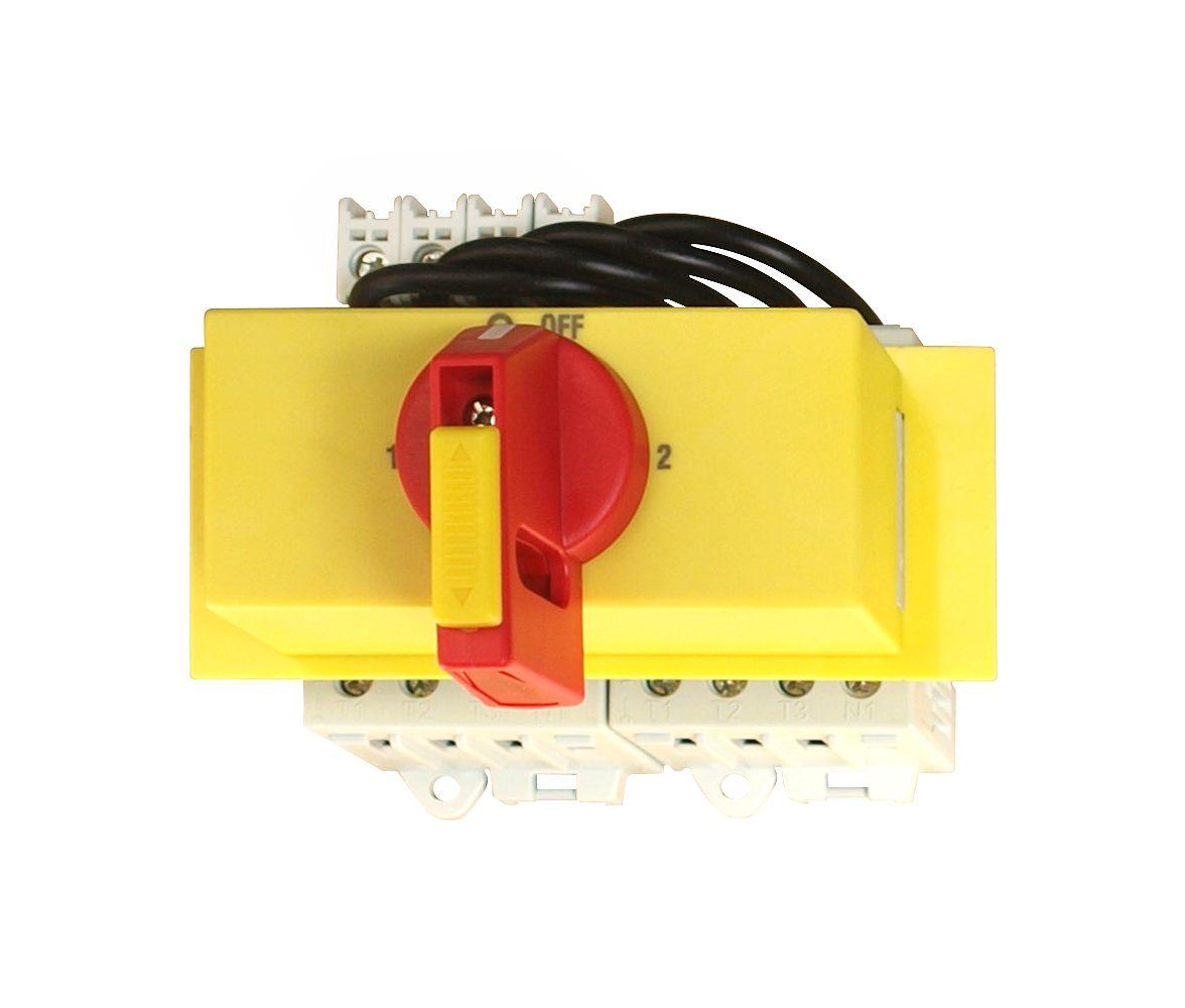 1 Stk Umschalter 4-polig, Reiheneinbau, 63A, absperrbar IN8R5427--