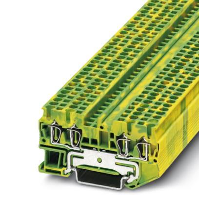1 Stk Schutzleiter-Reihenklemme ST 2,5-QUATTRO-PE IP3031322-