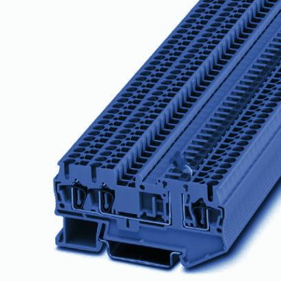 1 Stk Messertrennklemme ST 2,5-TWIN-MT BU IP3037821-