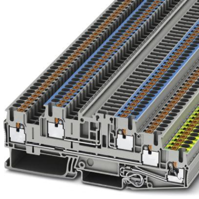 1 Stk Installationsschutzleiterklemme PTB 2,5-PE/L/NTG IP3210545-