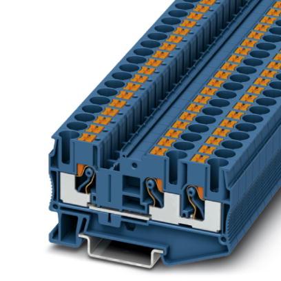 1 Stk Durchgangsklemme PT 6-TWIN BU IP3211485-