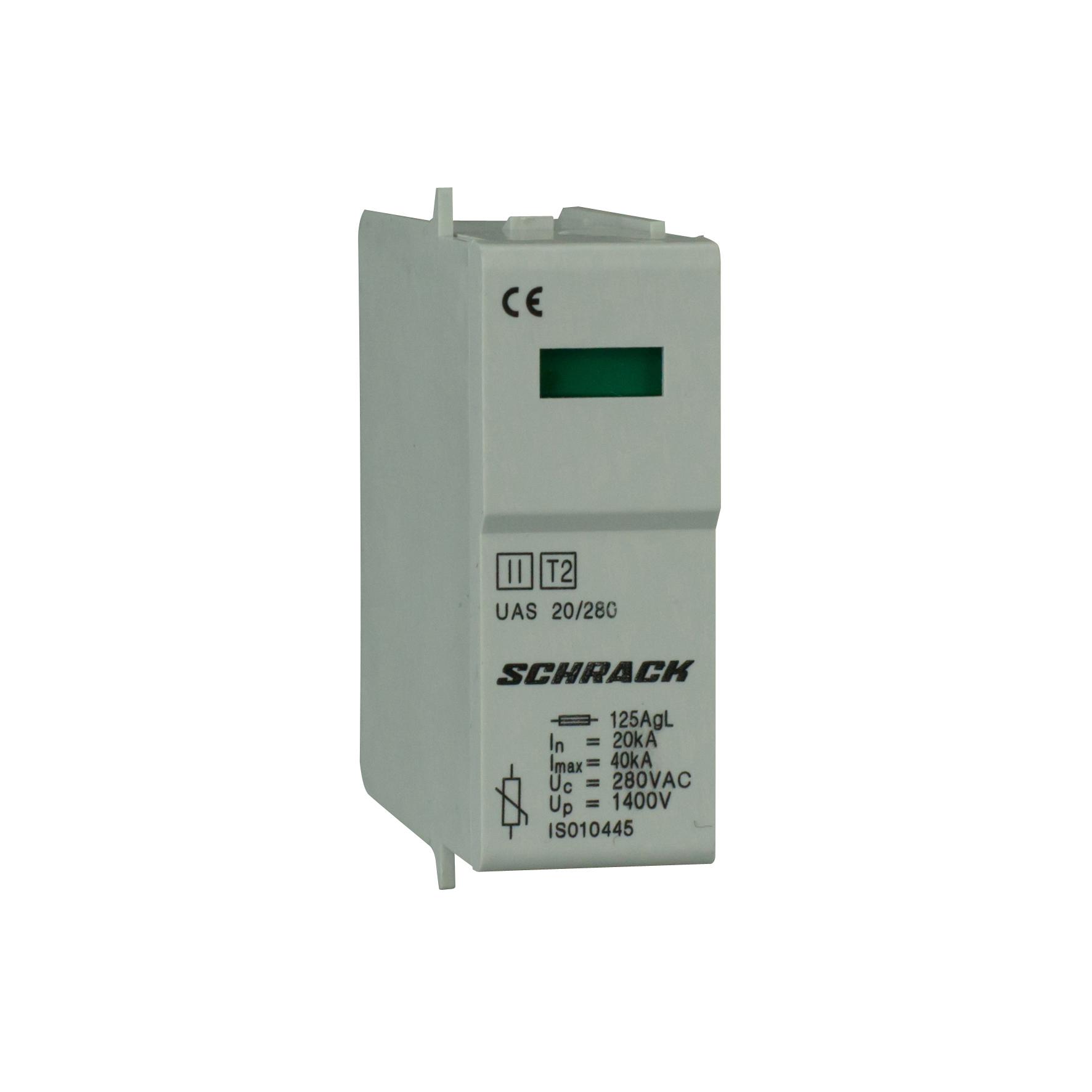 1 Stk T2/C - Ableitermoduleinsatz VV 20kA/280V - Serie UAS IS010445--