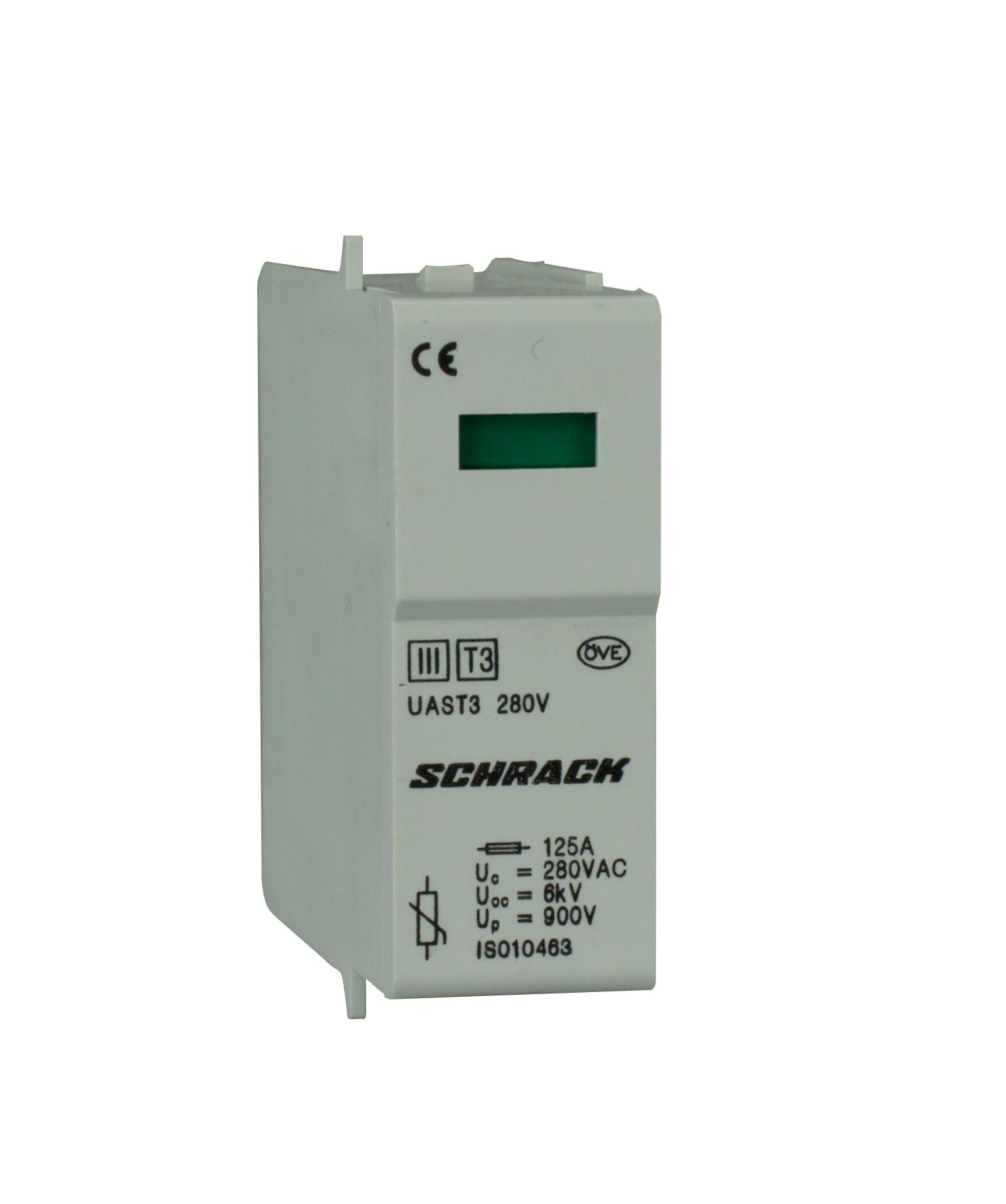 1 Stk T3/D - Ableitermoduleinsatz VV 280V - Serie UAS IS010463--
