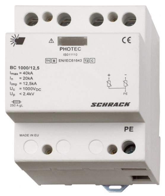 1 Stk Photovoltaikabl. Klasse 1+2 (B+C) 1000Vdc, Iimp 12,5kA+HK IS011111--