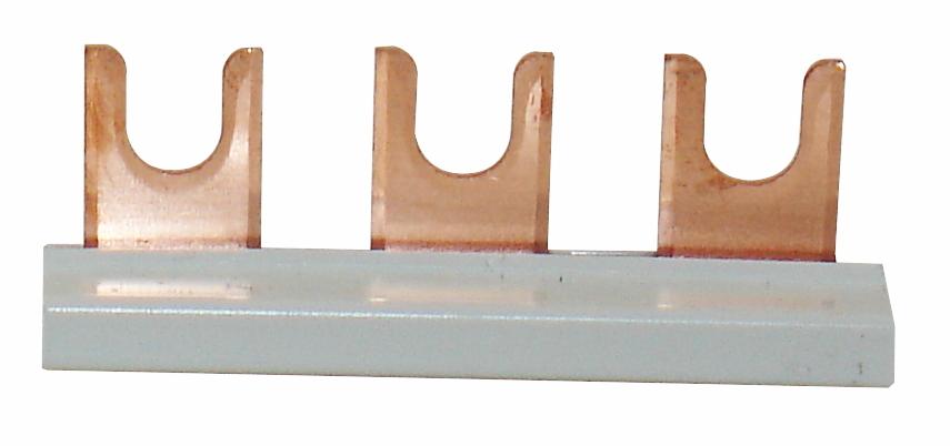 1 Stk Verschienung 3-fach, isoliert, für TN-C-System IS050103--