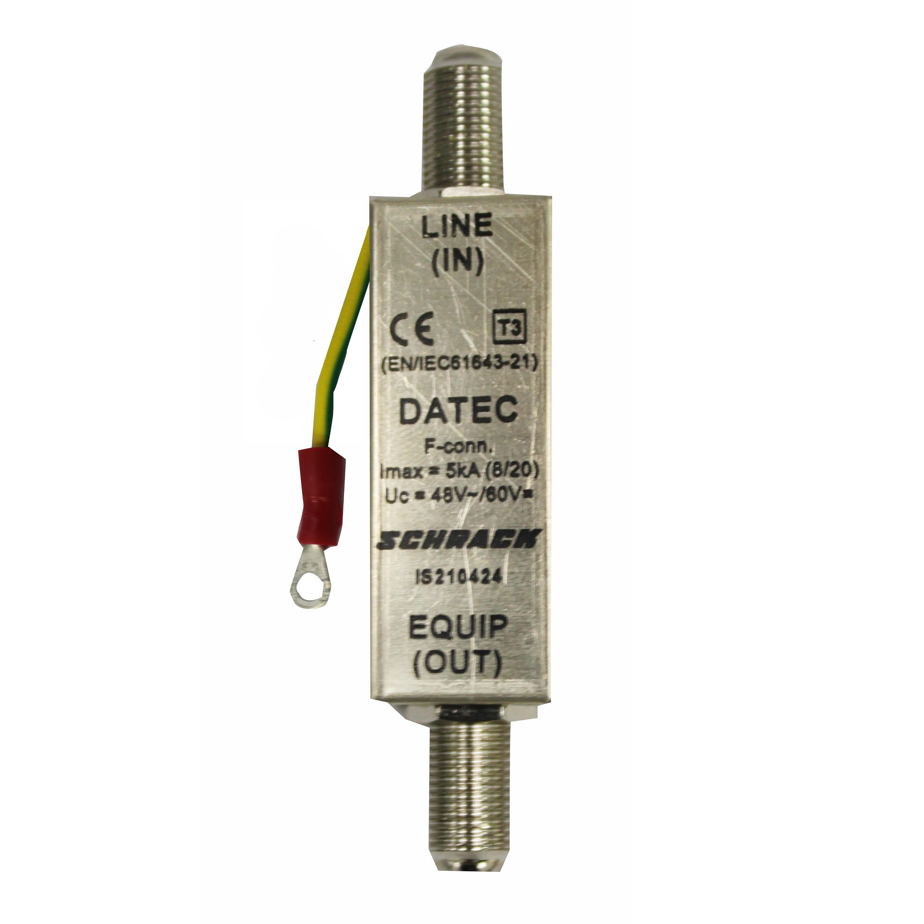 1 Stk Datenableiter für Koaxialkabel mit F Stecker IS210424--