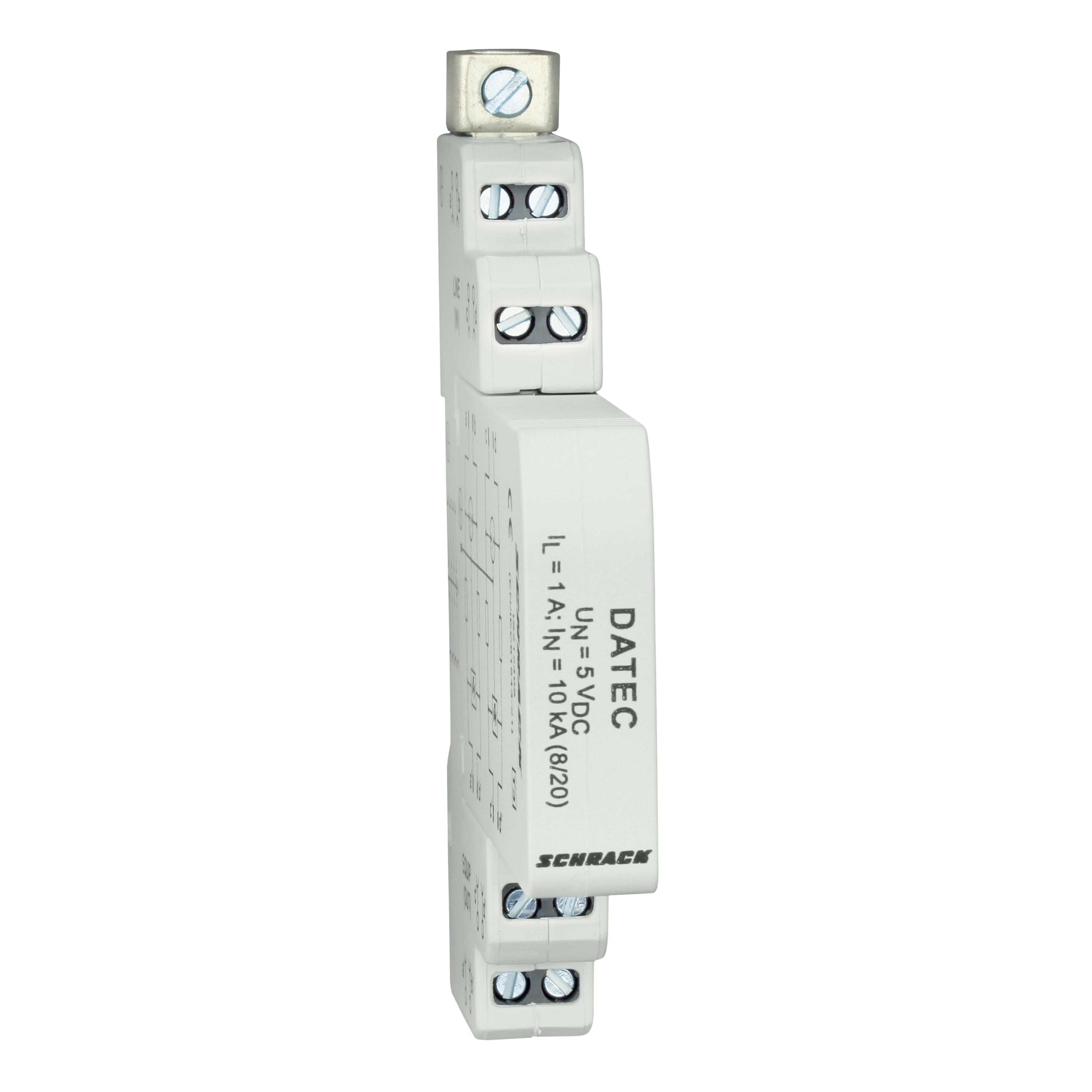 1 Stk Ableiter für Steuerleitungen, max. 5Vdc/1A, Klasse 3 (D) IS212405--