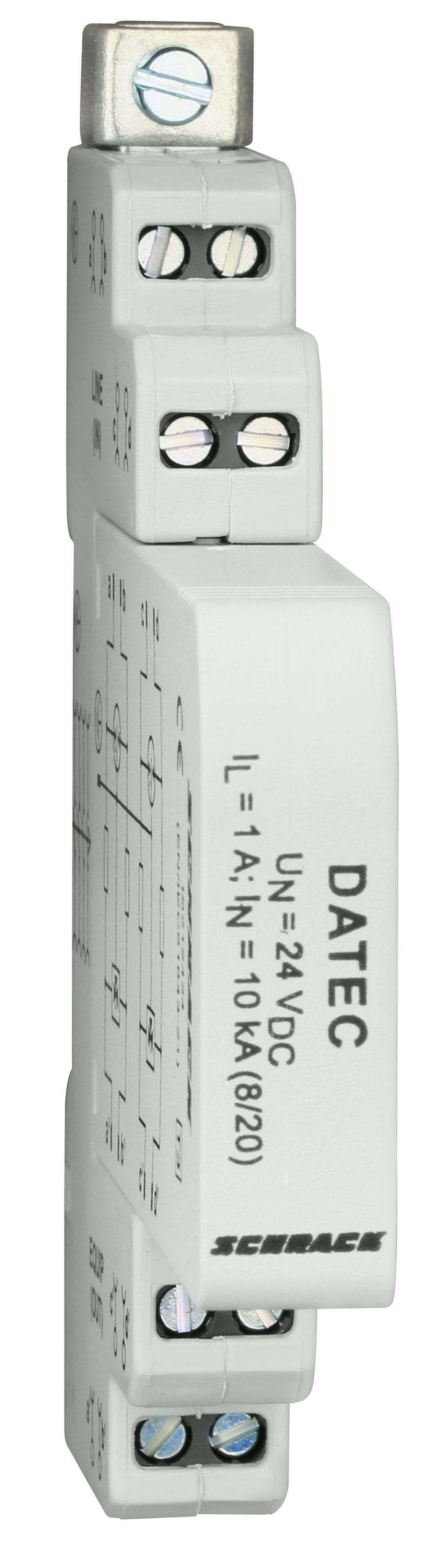 1 Stk Ableiter für Steuerleitungen, max. 24Vdc/1A, Klasse 3 (D) IS212424--