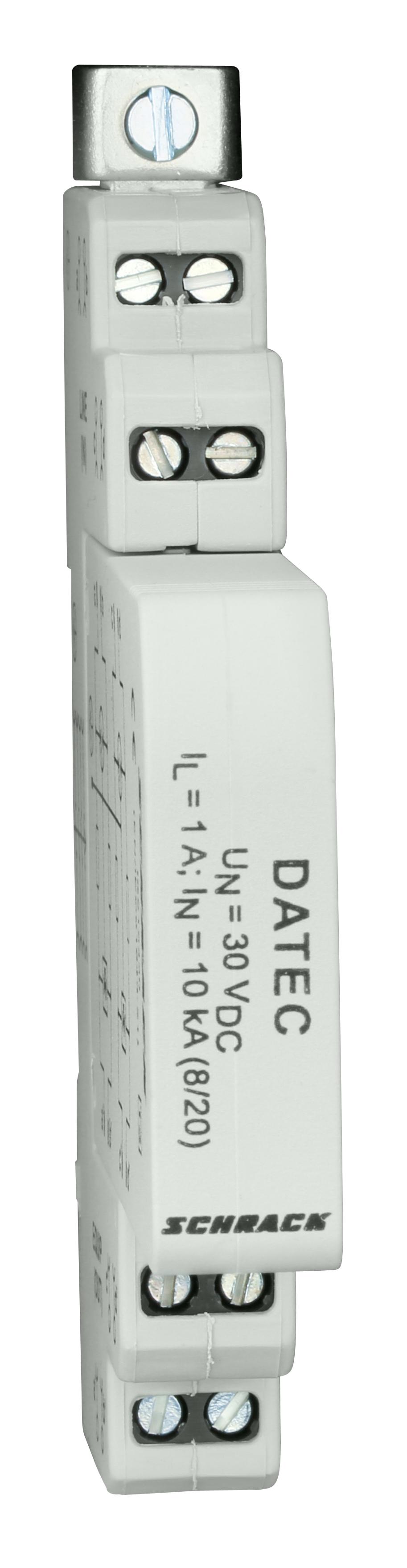 1 Stk Ableiter für Steuerleitungen, max. 30Vdc/1A, Klasse 3 (D) IS212430--