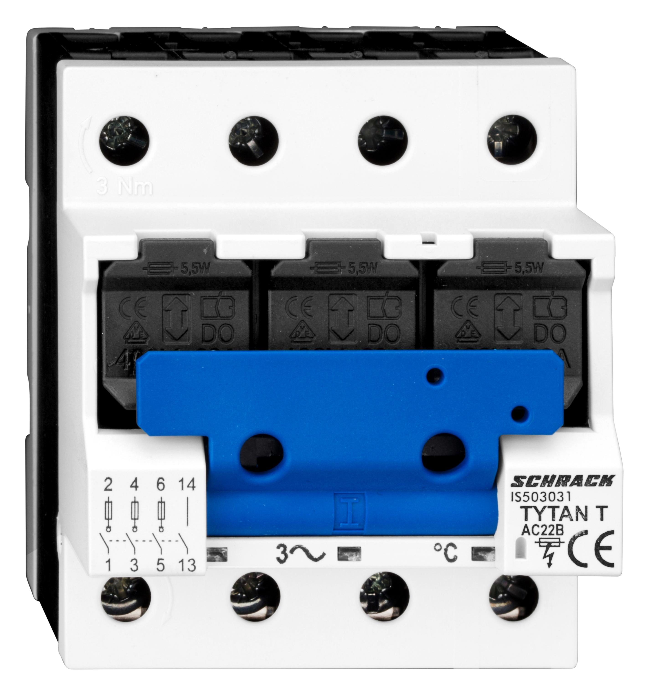 1 Stk TYTAN T, D02-Sicherungslasttrenschalter, 63A, 3-polig, HK IS503031--