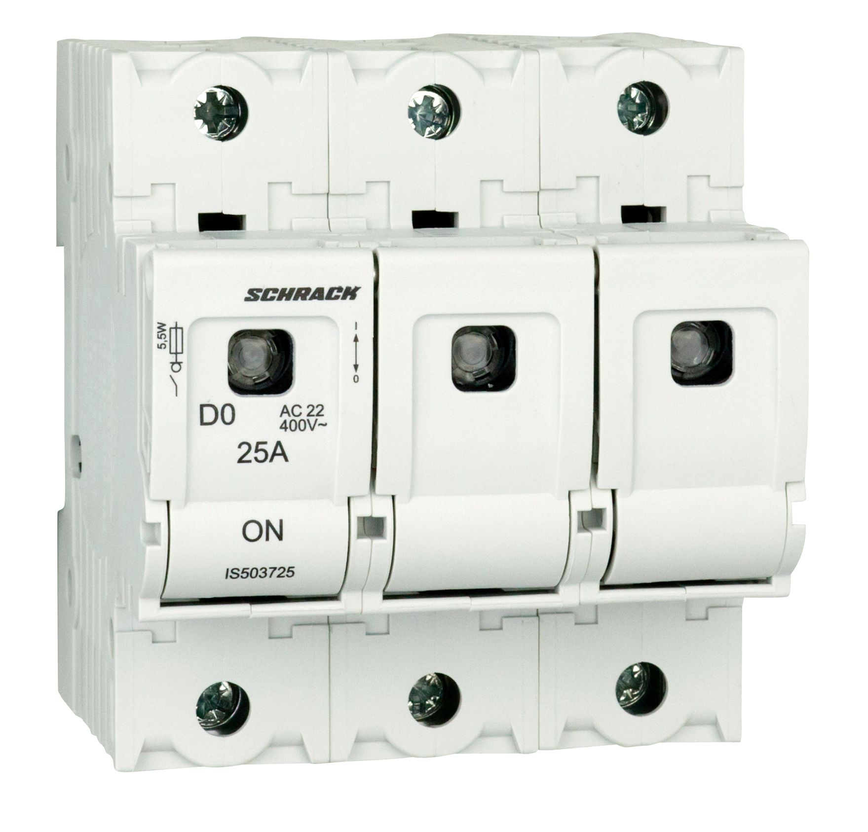 1 Stk D02-Lasttrennschalter ARROW S, 3-polig, 25A IS503725--