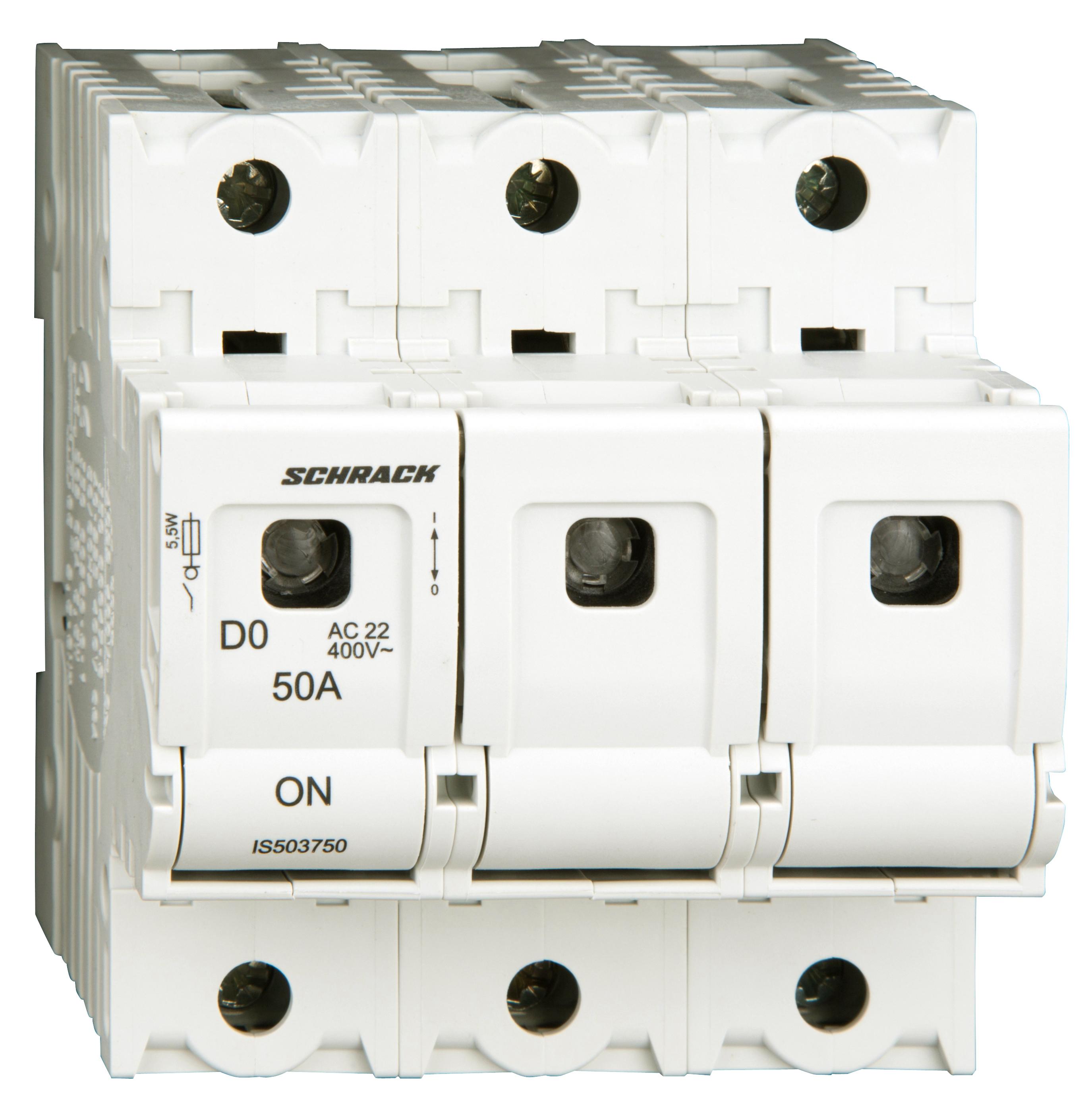 1 Stk D02-Lasttrennschalter ARROW S, 3-polig, 50A IS503750--