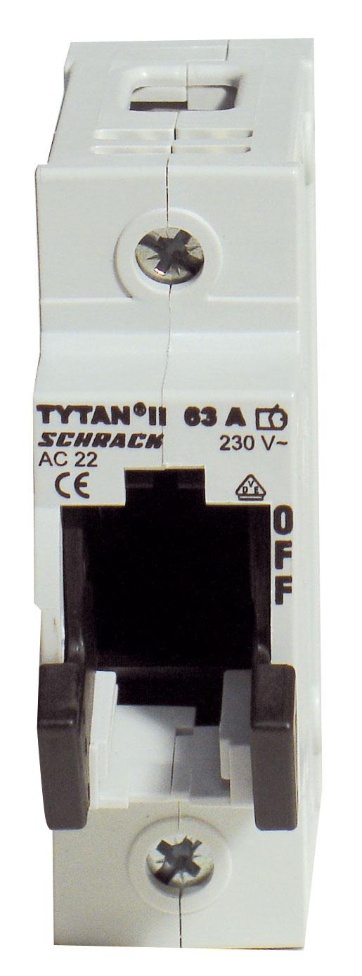 1 Stk TYTAN II, D02-Sicherungslasttrennschalter, 1-polig, 63A IS504700-A