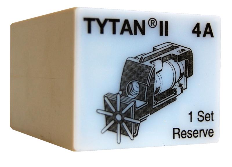 1 Stk Sicherungsstecker für TYTAN II 3x4A mit D01-Sicherung IS504711-A