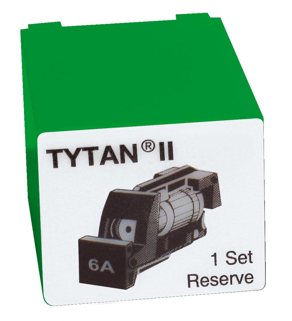 1 Stk Sicherungsstecker für TYTAN II 3x6A mit D01-Sicherung IS504712-A