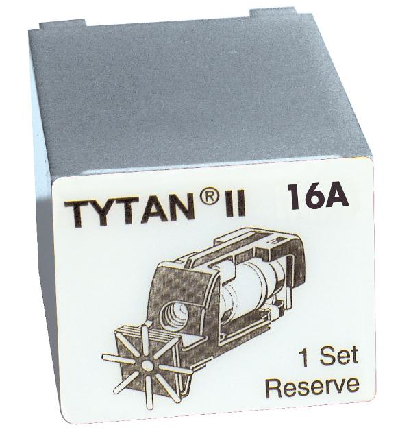1 Stk Sicherungsstecker für TYTAN II 3x16A mit D01-Sicherung IS504714-A