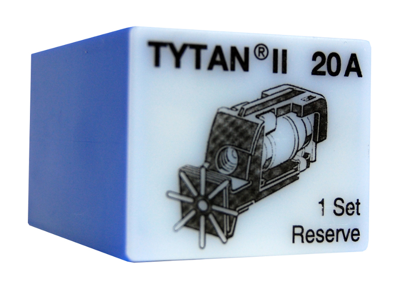 1 Stk Sicherungsstecker für TYTAN II 3x20A mit D02-Sicherung IS504715-A