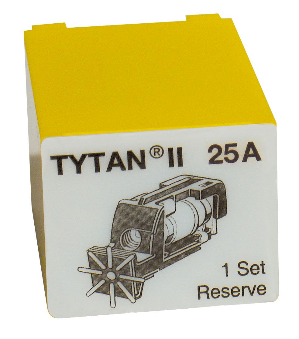 1 Stk Sicherungsstecker für TYTAN II 3x25A mit D02-Sicherung IS504716-A