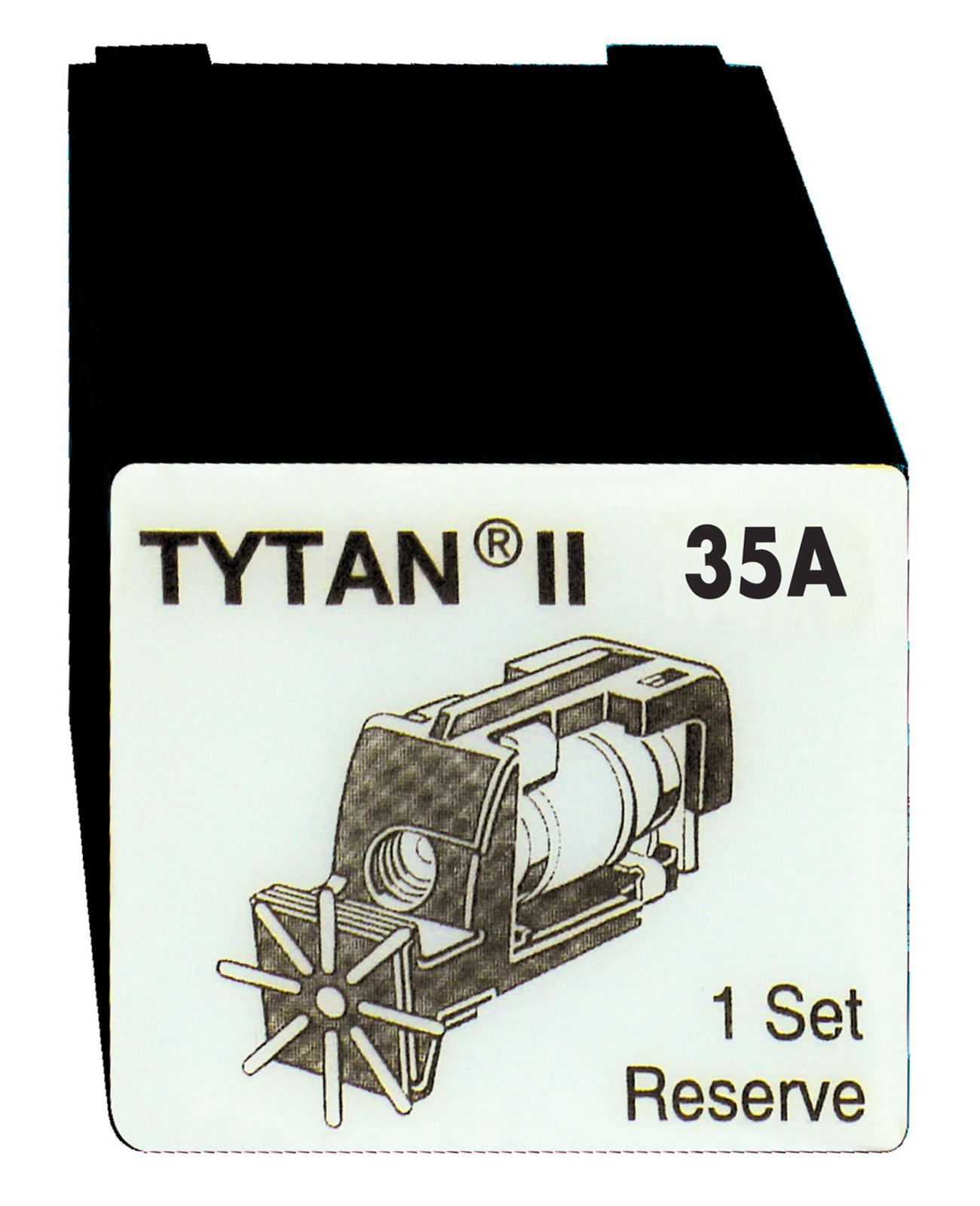 1 Stk Sicherungsstecker für TYTAN II 3x35A mit D02-Sicherung IS504717-A