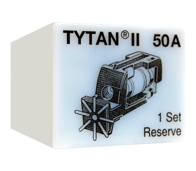 1 Stk Sicherungsstecker für TYTAN II 3x50A mit D02-Sicherung IS504718-A