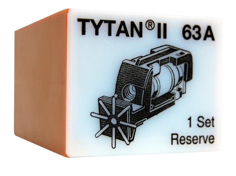 1 Stk Sicherungsstecker für TYTAN II 3x63A mit D02-Sicherung IS504719-A