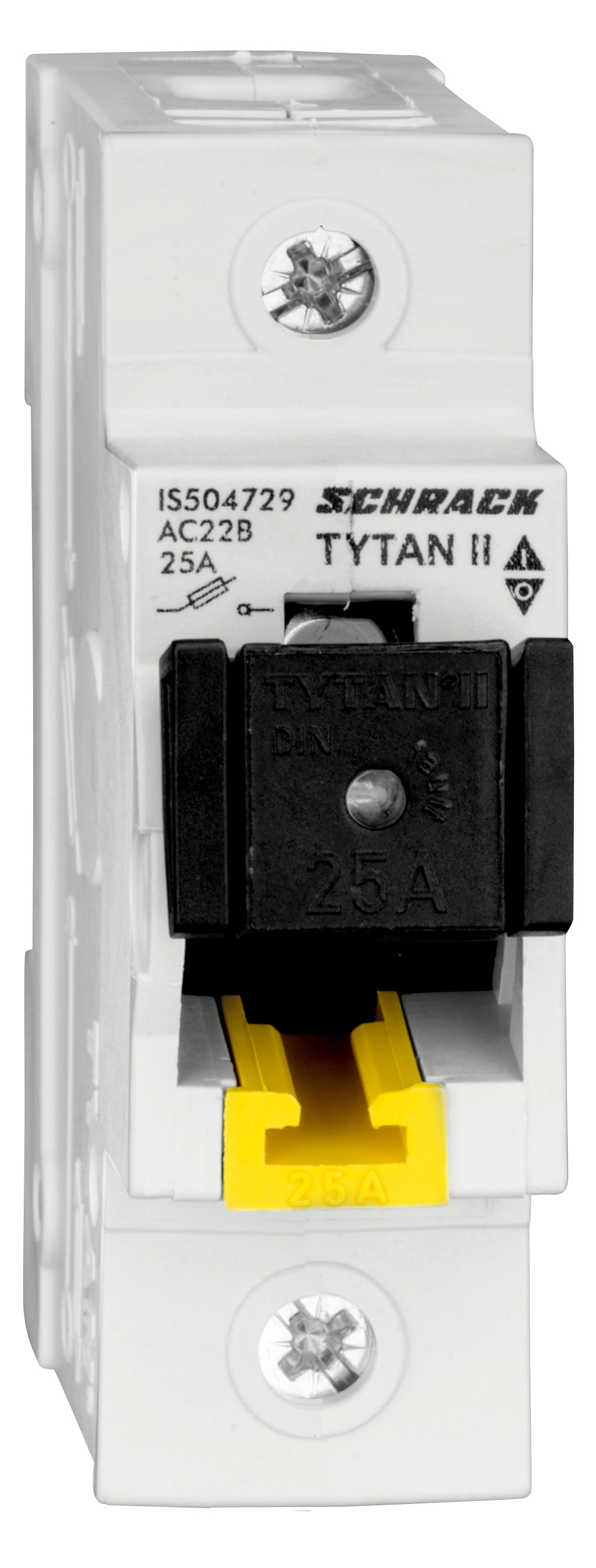 1 Stk TYTAN II, Sicherungslasttrennschalter 1-polig, komplett 25A IS504729--