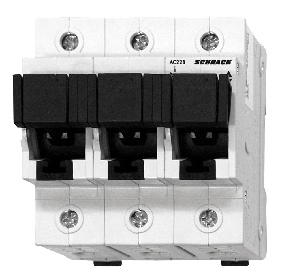 1 Stk TYTAN II, D02-Sicherungslasttrennschalter,3-pol komplett 35A IS5047PL35
