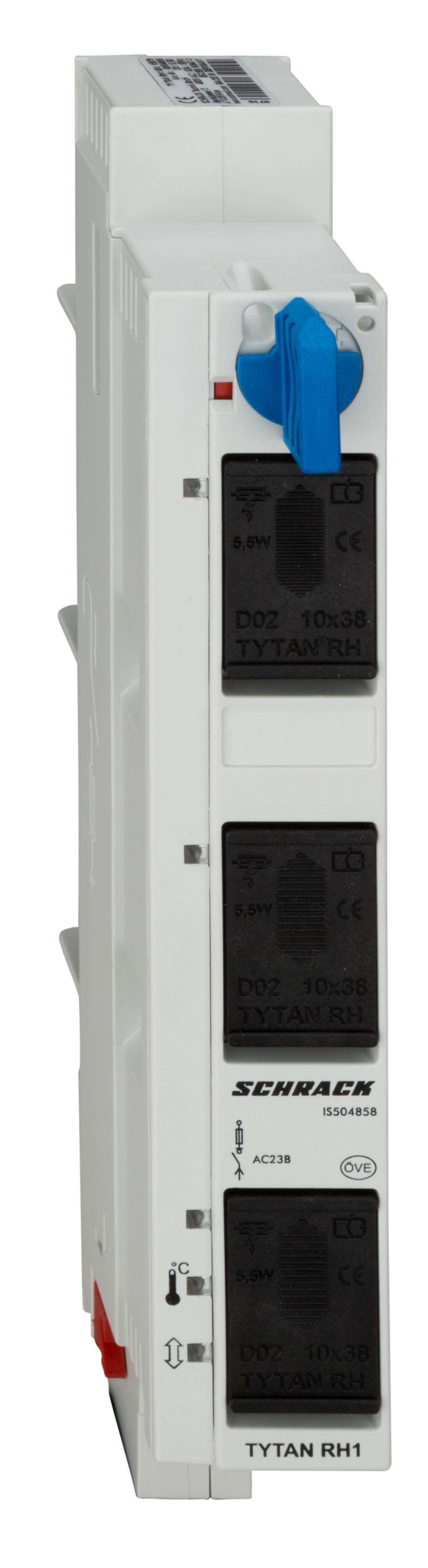 1 Stk TYTAN RH1-Hauptschutz Lasttrennschalter D02 mit Überwachung IS504858--