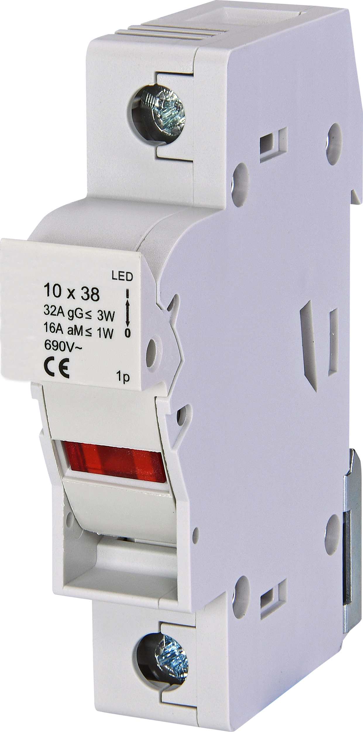 1 Stk Sicherungstrennschalter 10x38mm, 1-polig, 32A mit LED IS506106--