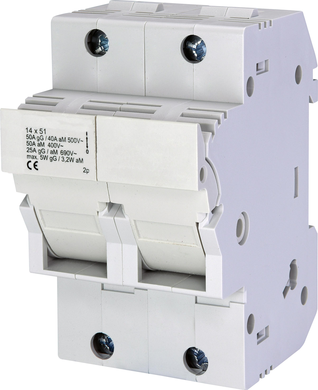 1 Stk Sicherungstrennschalter 14x51mm, 2-polig, 50A IS506142--