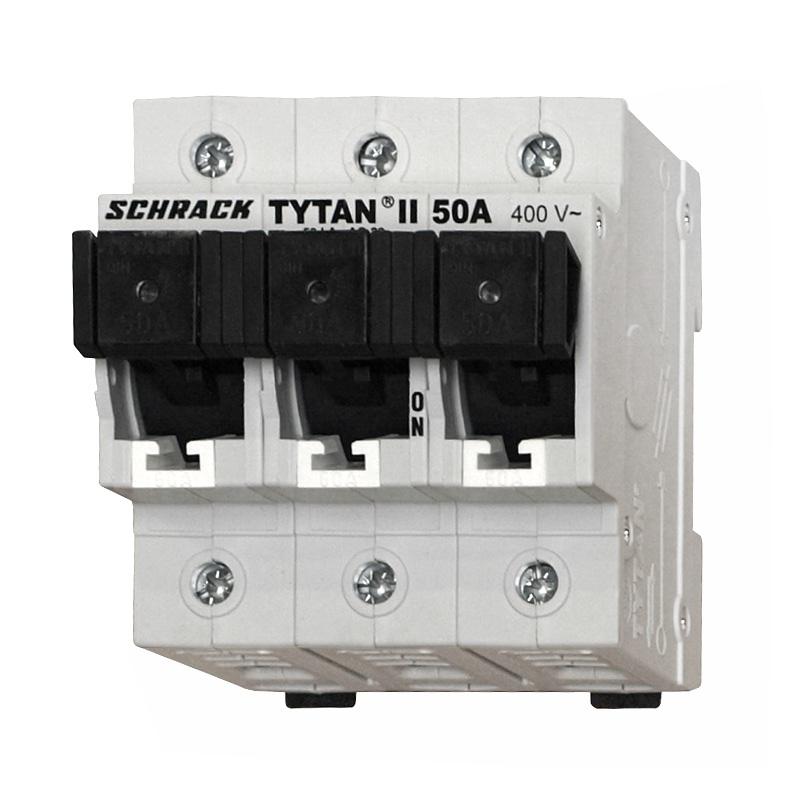 1 Stk TYTAN II, Sicherungslasttrennschalter, 3-polig, kompl., 50A IS509350--