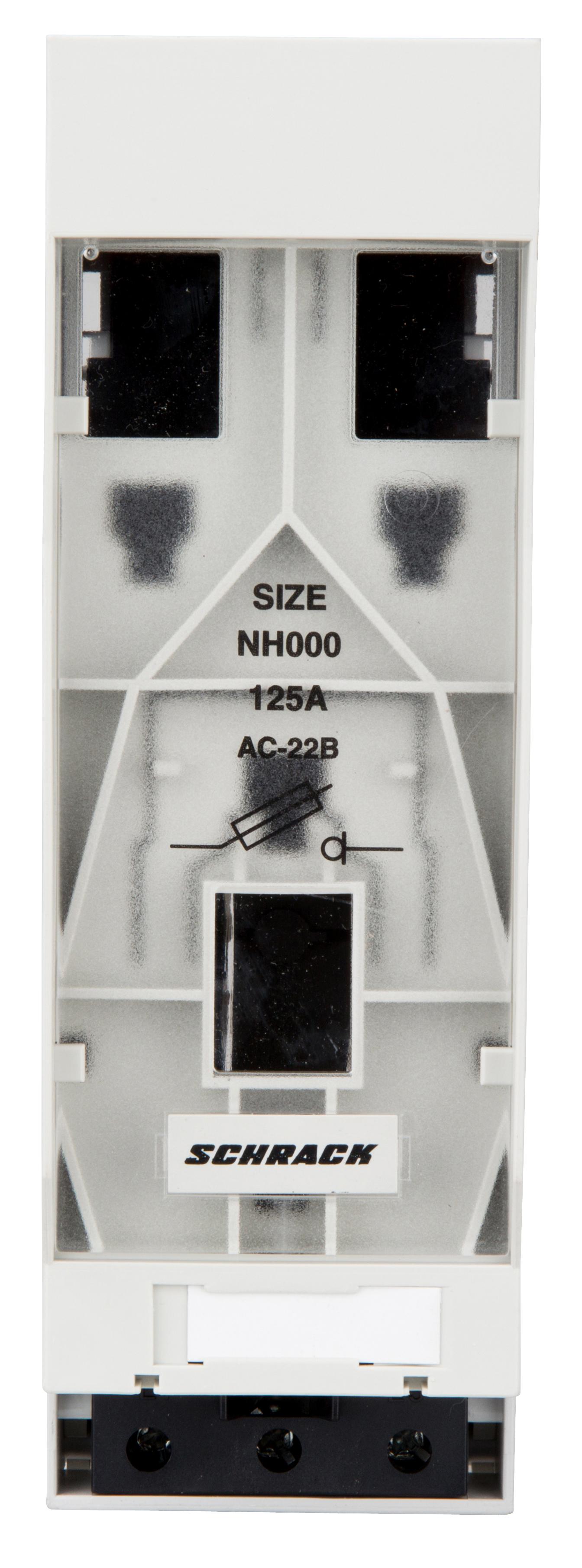 1 Stk Reiter-NH-Lasttrenner Gr.000 bis 100A für 60mmSS,Abg.unten ISA05019--