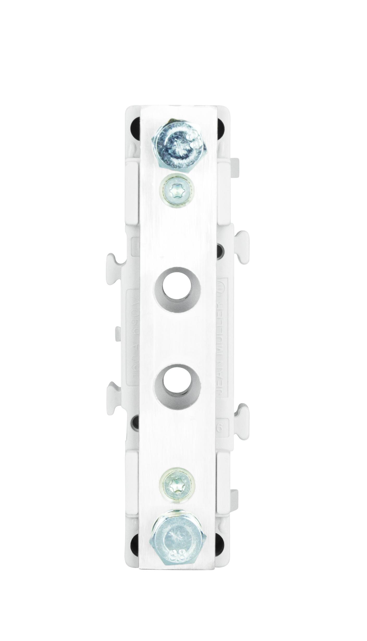 1 Stk Nullleiter-Stütze 1-polig, Größe 00, 2 x M8 ISA05043--