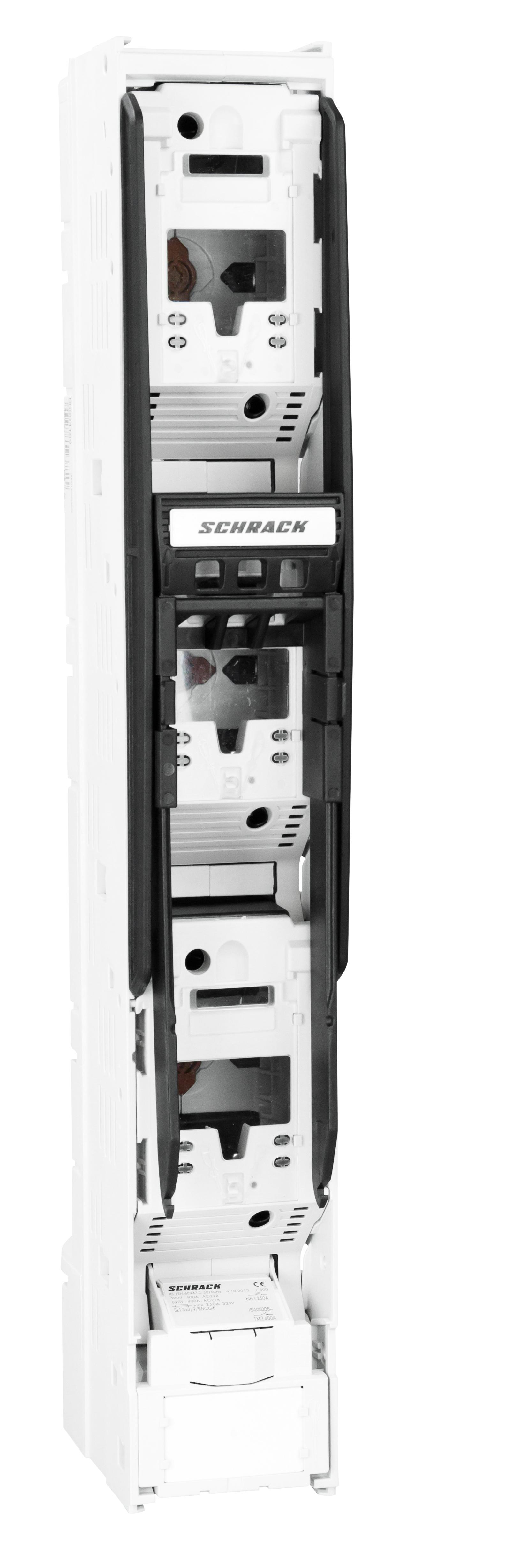 1 Stk NH-Trennerleiste, Größe 1, 3polig, 250A, M10, mit V-Lasche ISA05306--