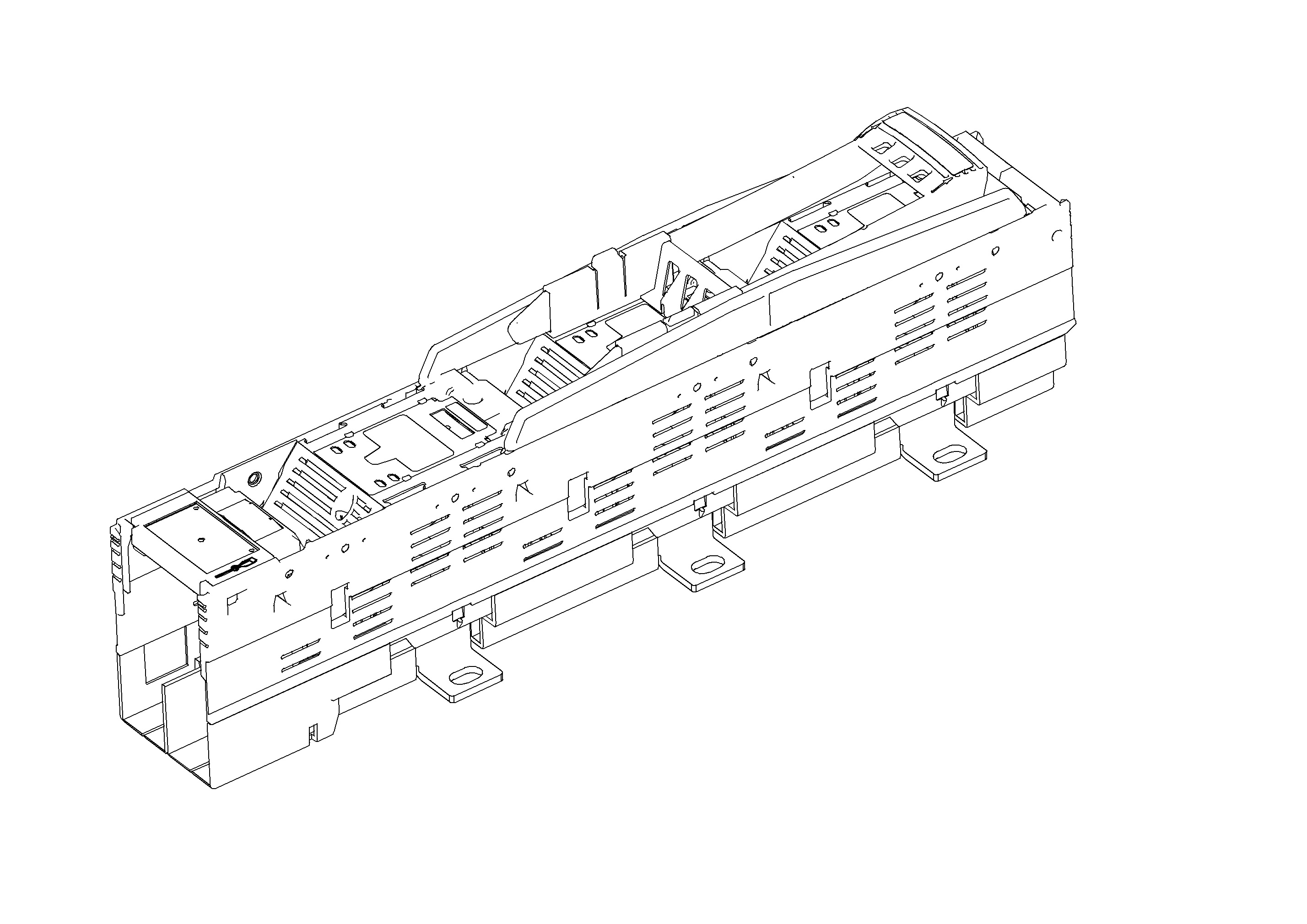 1 Stk Kuppelleiste Gr. 3 ARROW II Abgang rechts ISA05331--
