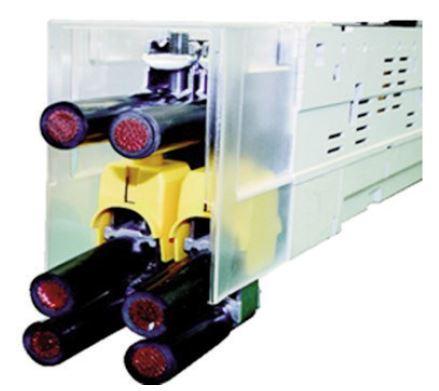 1 Stk V-Doppel-Klemmennachrüstsatz, Gr. 1-3, 2 x 185 - 240mm² ISA05730--