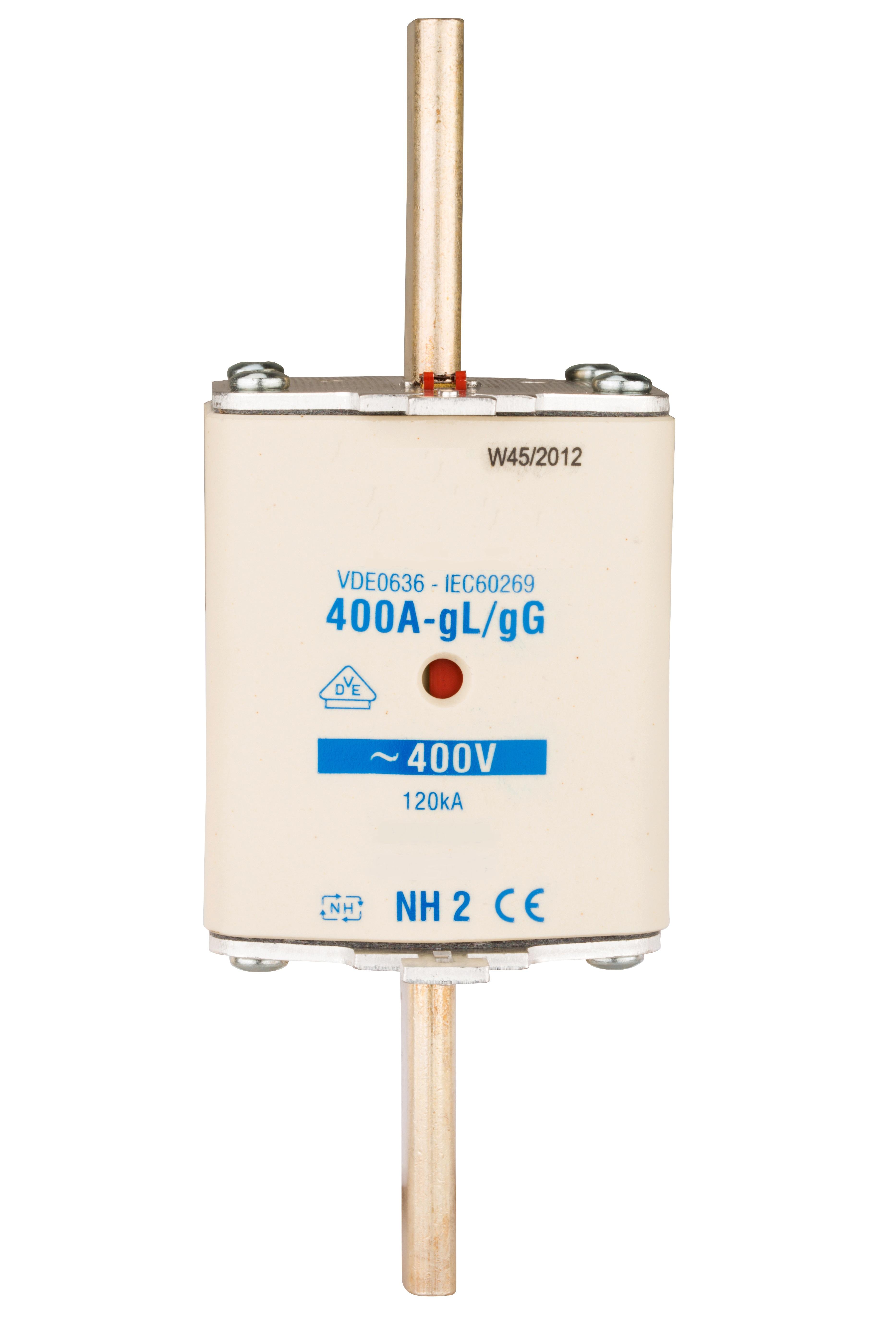 1 Stk NH-Sicherungseinsatz, Größe 2, 80A, 400V AC ISP02080--