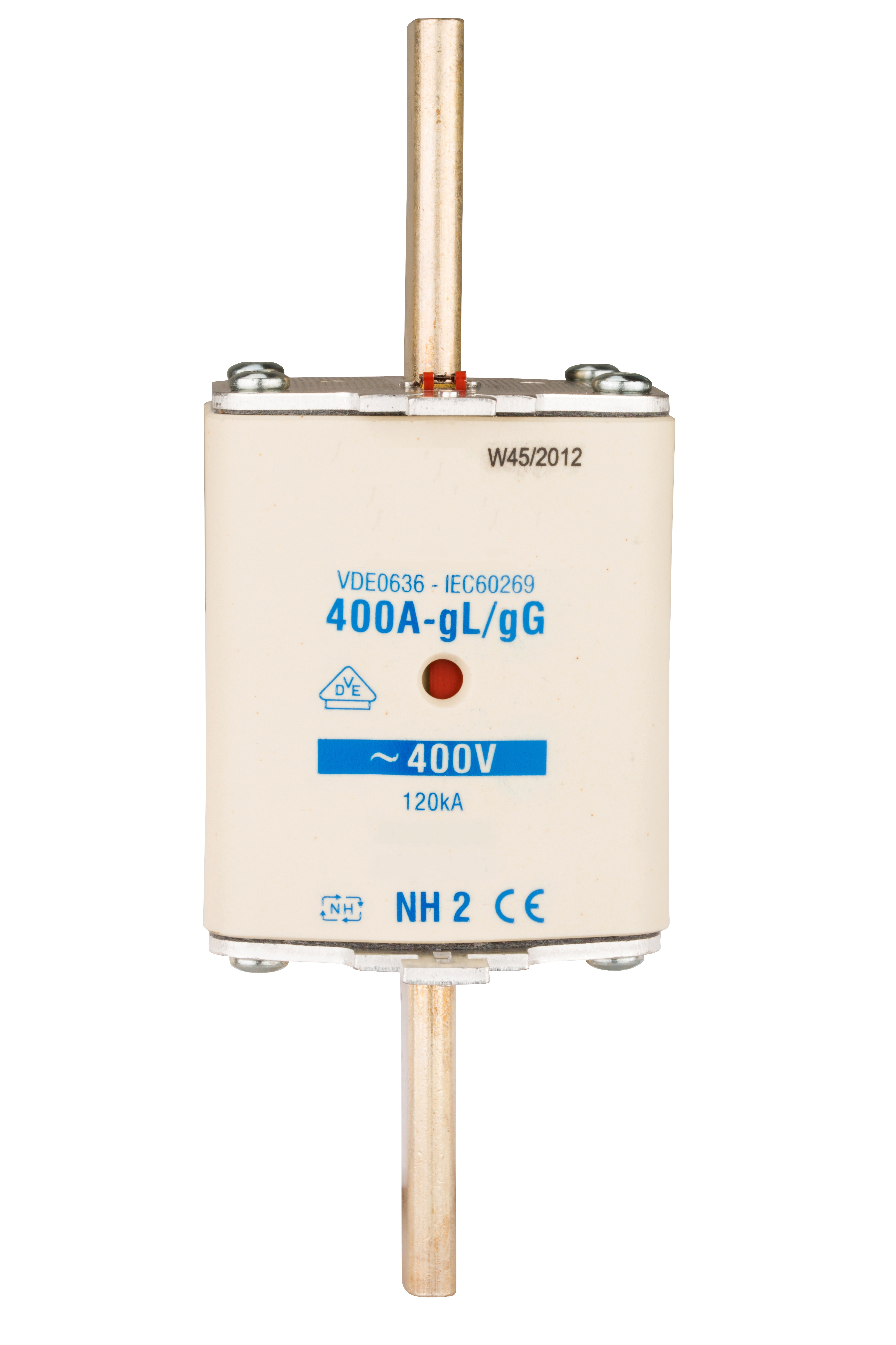 1 Stk NH-Sicherungseinsatz, Größe 2, 400A, 400V AC ISP02400--